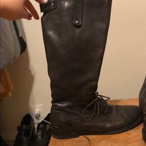 Crown Vintage Shoes - Vintage brown riding boots